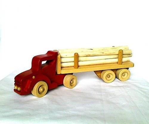 SCANI Truck wood II.