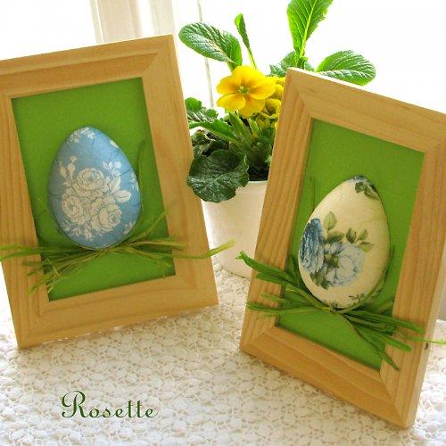 Vajíčko v trávě - velikonoční dekorace