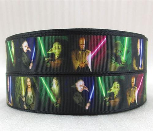 Stuha rypsová š.25 mm: Star Wars