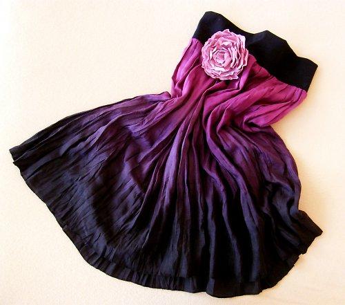 Pro Temnou Bohyni...krátká hedvábná sukně