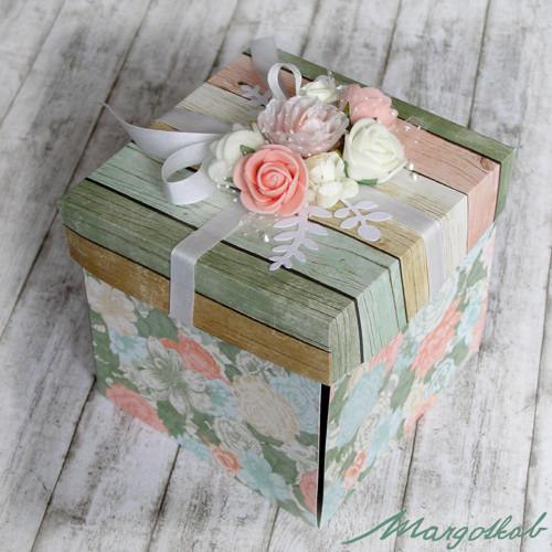 Svatební krabička na peníze romantická