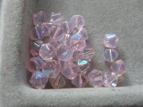 Sluníčka - růžová 6 mm / 10 ks