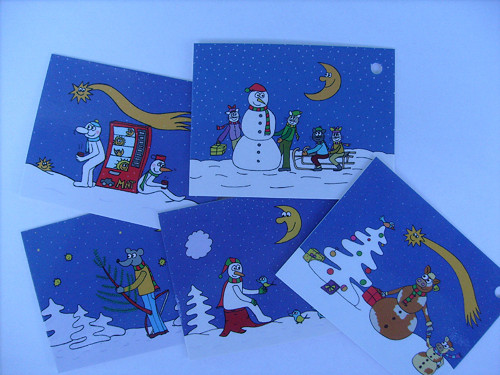 Vánoční dárkovky - 5 kusů