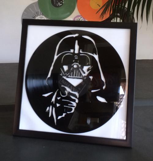 Vinyl art  ručně vyřezáno do gramodesky