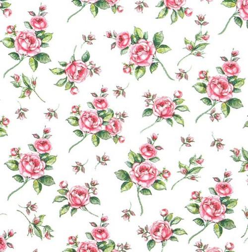 Ubrousek - drobné růžičky EVELYN (20 ks)
