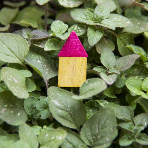 Prsten Dřevěný domek