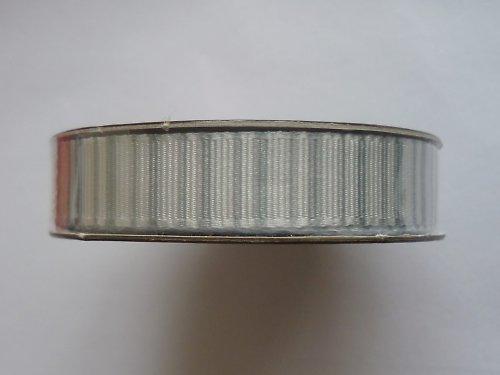 Stužka stříbrné proužky - 1,5 m