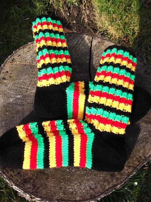RASTA ponožky na Vaše přání