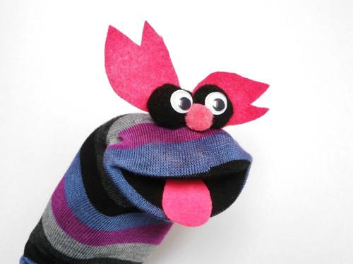 Maňásek ponožkáček  č.583