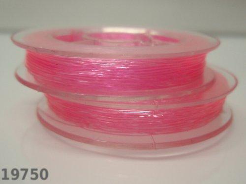19750-B08 Elastické lanko lycra 0,6/10m růžové