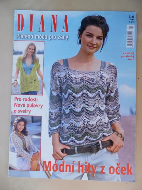 Časopis DIANA pletená móda pro ženy č.25/2014