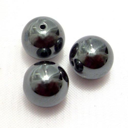 Korálky - hematit (cena za 1 ks)