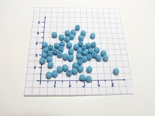Mačkané kuličky, korálky 4mm, 35 ks
