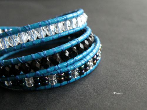 Wrap - Turquoise & Metallic