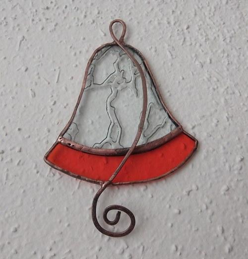 Zvonek s tepaným srdcem 1