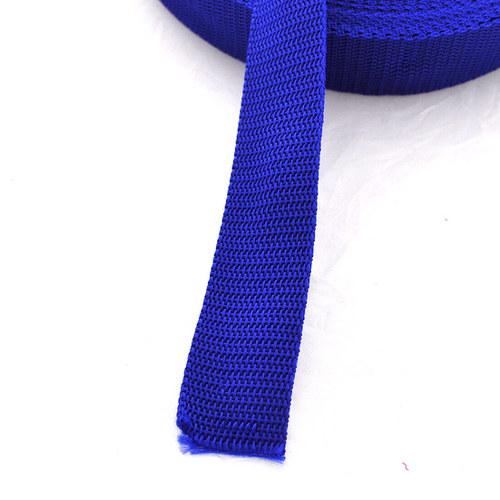 Popruh POP 5 cm - modrá střední akce