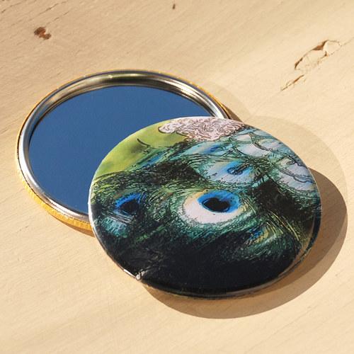 Zrcátko paví (75 mm) s pytlíčkem