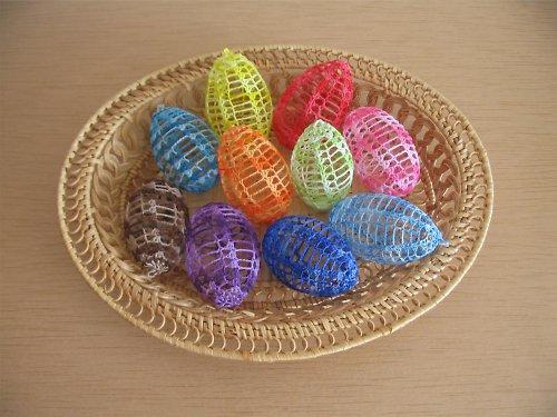 Velikonoční vajíčko-melír