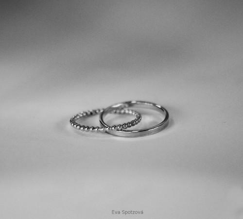 Dvojprsten - hračka - stříbro 925/1000