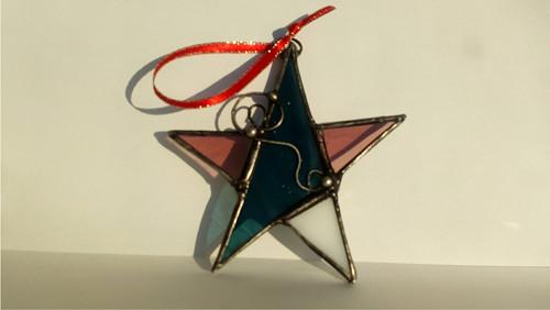 Retro Vánoční hvězda 4