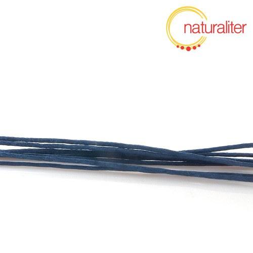 Voskovaná šňůra tmavě modrá 1 mm, 1 m