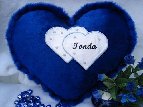 Polštář srdce Tonda