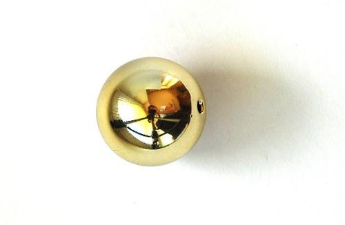 Kulička lesklá 20mm - zlatá