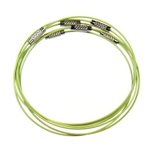 Světle zelená náramková obruč, 1 ks