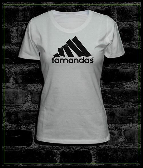 Dámské tričko bílé Ťamandas