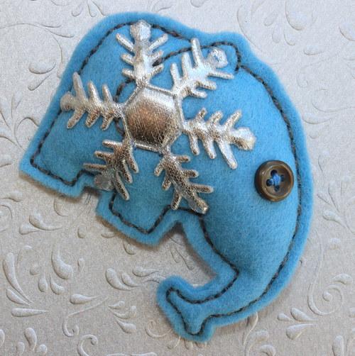 Modrý sloník Štěpi