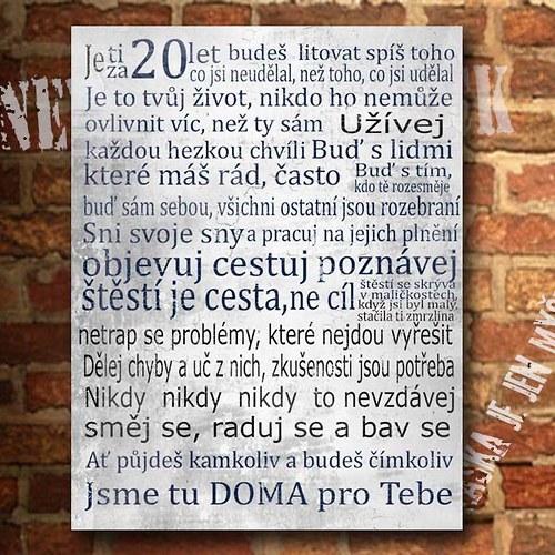 přání k 20 narozeninám vtipné Fler Box uživatele Alimraj | Fler.cz přání k 20 narozeninám vtipné