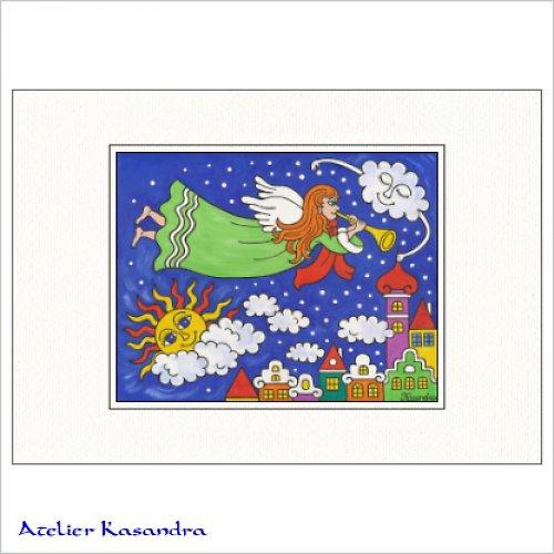 Pasparta A3 - Anděl Petronius přivolává zimu