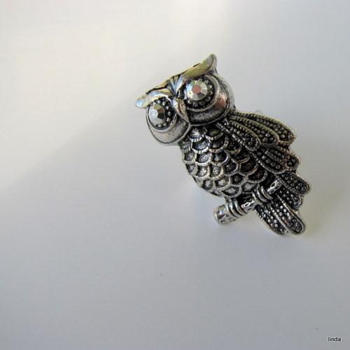 Moudrá sova - čarodějnický prsten :-)