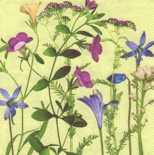 Ubrousek - luční květiny (3 ks)