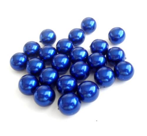 Voskové kuličky tmavě modré 14mm