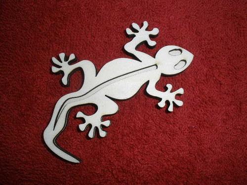 Razítko překližka ještěrka - v.5,5x9cm