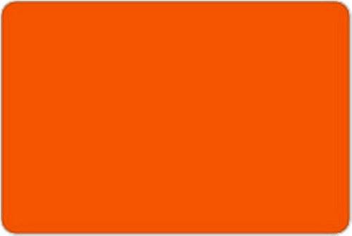 Plsť oranžovočervená 1mm