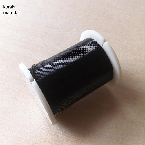 2383 Drátek Ø 0,3mm, návin 10m Černá