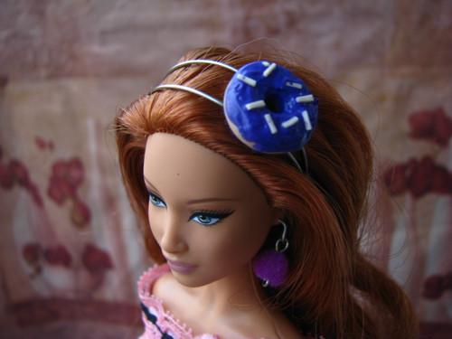 Čelenka pro Barbie nebo Monster High - donut