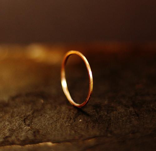 GG N°14 prsten - růžové zlato (Au 585/1000)