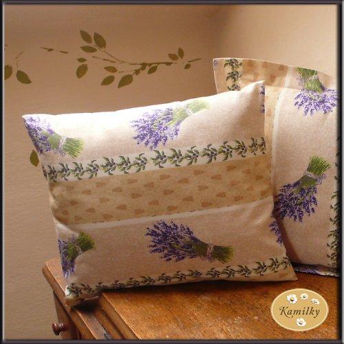 Levandulky -polštář