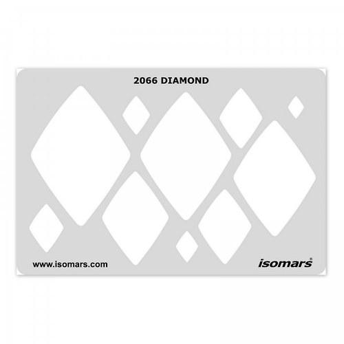 Šablona / Diamond / 2066