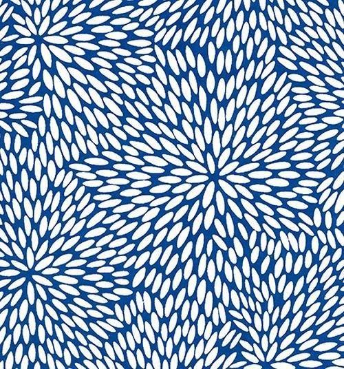 Handmade papír - Zrnka rýže modrá