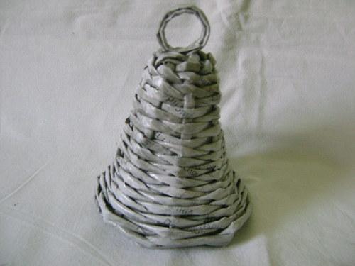 Zvonek -šedá patina