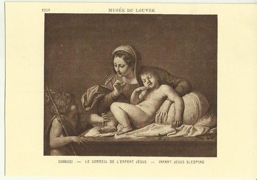 Umělecká pohlednice Carracci