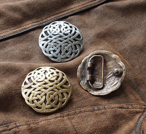 Buckle - Keltský ornament