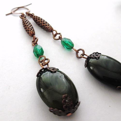 Zelené s olivkou