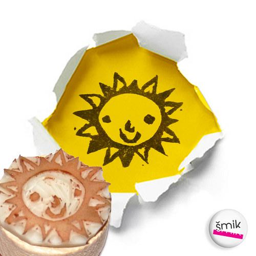 razítko spokojené sluníčko