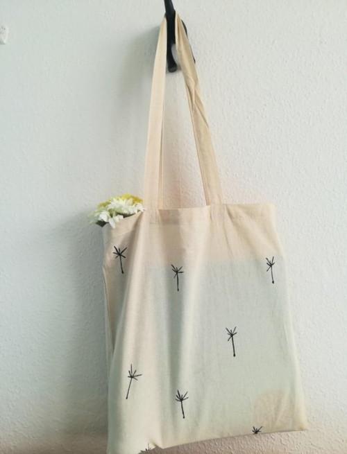 Plátěná taška s chmířím