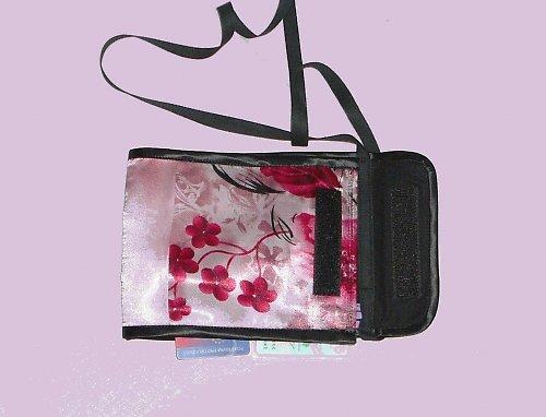 Taštička dokladovka růžová